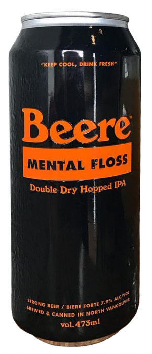 Mental Floss by Beere Brewing Company in British Columbia, Canada