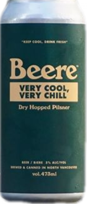 Very Cool, Very Chill by Beere Brewing Company in British Columbia, Canada
