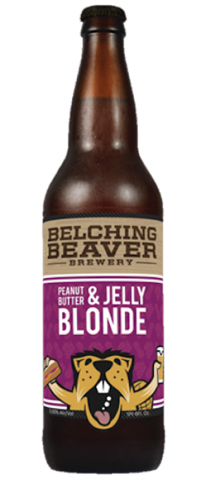 PB&J Blonde by Belching Beaver Brewery in California, United States