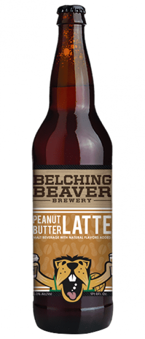 Peanut Butter Latte by Belching Beaver Brewery in California, United States