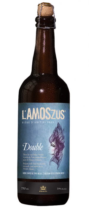 L'amoszus Double by Belgh Brasse in Québec, Canada