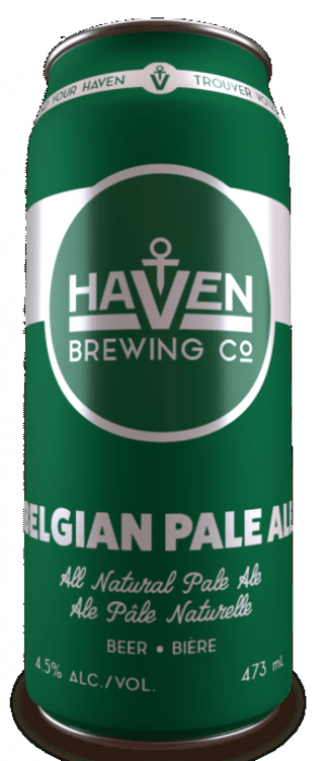 Belgian Pale Ale by Haven Brewing Co. in Ontario, Canada