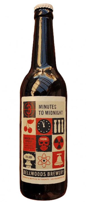 3 Minutes To Midnight by Bellwoods Brewery in Ontario, Canada
