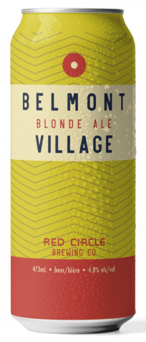 Belmont Village Blonde Ale by Red Circle Brewing & Coffee in Ontario, Canada
