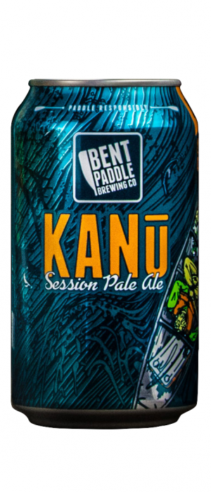 Kanu Session Pale Ale by Bent Paddle Brewing Company in Minnesota, United States