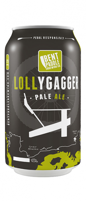 Lollygagger by Bent Paddle Brewing Company in Minnesota, United States