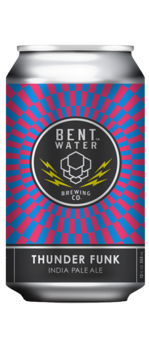Thunder Funk IPA by Bent Water Brewing Co. in Massachusetts, United States