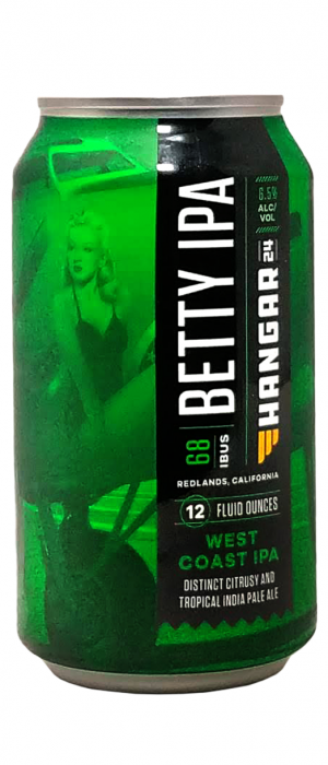 Betty IPA by Hangar 24 Craft Brewery in California, United States