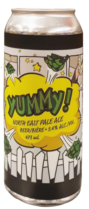 Yummy by Beyond the Pale Brewing Company in Ontario, Canada