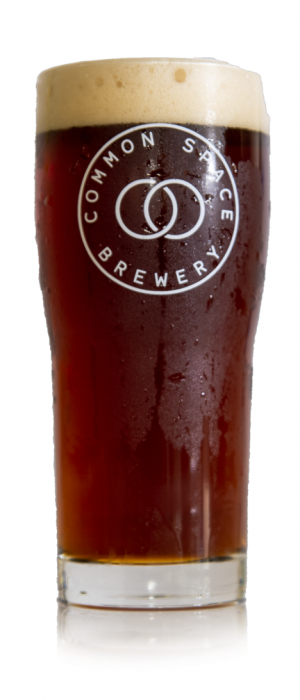 B.F.R. Double Red Ale by Common Space Brewery in California, United States