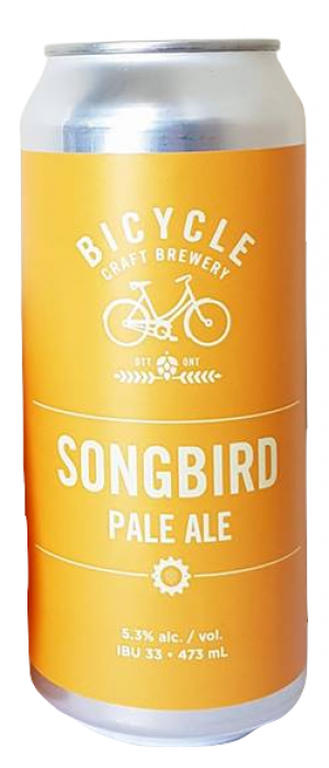 Songbird by Bicycle Craft Brewery in Ontario, Canada