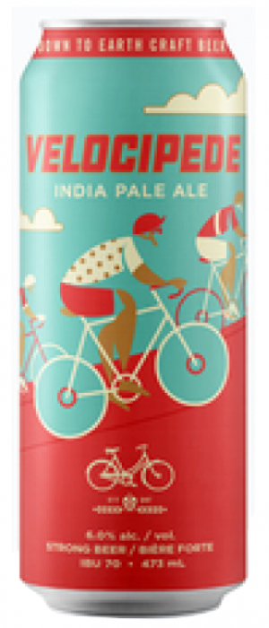 Velocipede India Pale Ale by Bicycle Craft Brewery in Ontario, Canada