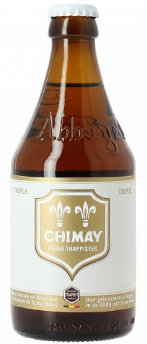 Chimay Triple by Bieres et Fromages De Chimay in East Flanders, Belgium