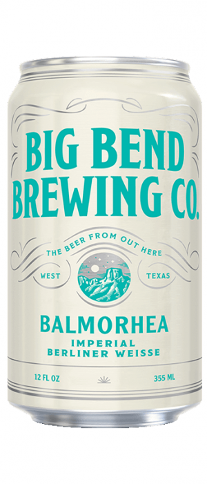 Balmorhea Imperial Berliner Weisse by Big Bend Brewing Company in Texas, United States