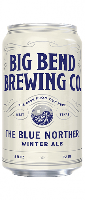 The Blue Norther Winter Ale by Big Bend Brewing Company in Texas, United States