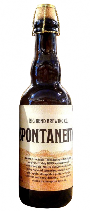 Spontaneity by Big Bend Brewing Company in Texas, United States