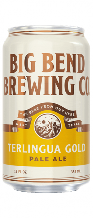 Terlingua Gold Pale Ale by Big Bend Brewing Company in Texas, United States