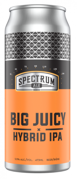 Big Juicy Hybrid IPA by Spectrum Ale Works in Alberta, Canada
