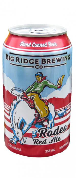 Rodeo Red Ale by Big Ridge Brewing Company in British Columbia, Canada