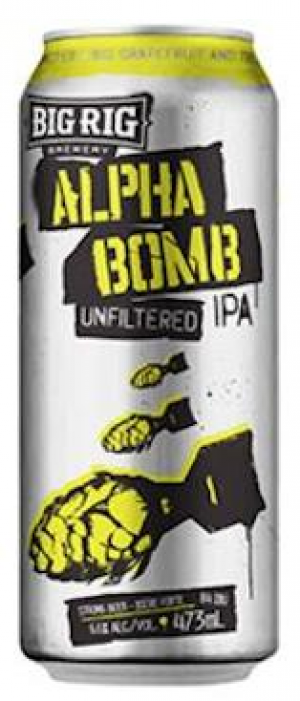 Alpha Bomb by Big Rig Brewery in Ontario, Canada
