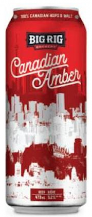 Canadian Amber by Big Rig Brewery in Ontario, Canada