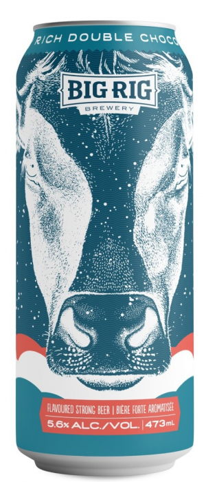 Midnight Kissed My Cow by Big Rig Brewery in Ontario, Canada