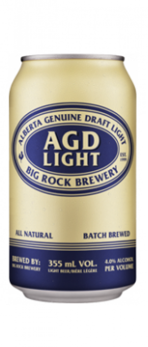 Alberta Genuine Draft Light