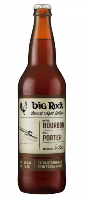 Bourbon Barrel Porter by Big Rock Brewery in Alberta, Canada