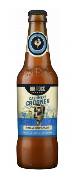 Cashmere Crooner by Big Rock Brewery in Alberta, Canada