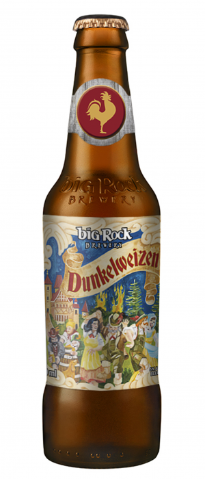 Dunkelweizen by Big Rock Brewery in Alberta, Canada