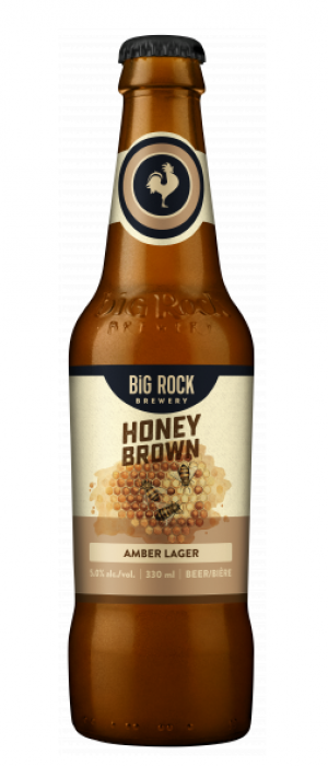 Honey Brown Lager by Big Rock Brewery in Alberta, Canada
