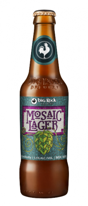 Mosaic Lager by Big Rock Brewery in Alberta, Canada