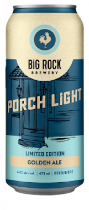 Porch Light by Big Rock Brewery in Alberta, Canada