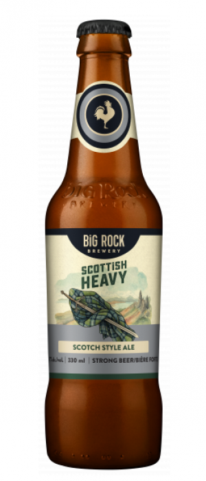 Scottish Heavy by Big Rock Brewery in Alberta, Canada