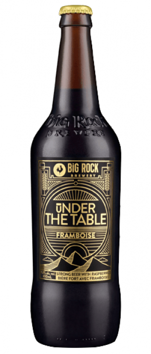 Under The Table Framboise by Big Rock Brewery in Alberta, Canada