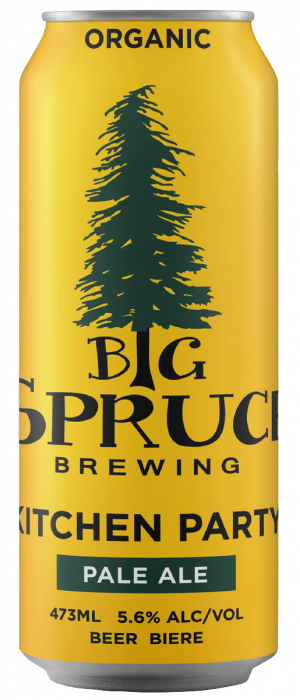Kitchen Party Pale Ale by Big Spruce Brewing in Nova Scotia, Canada