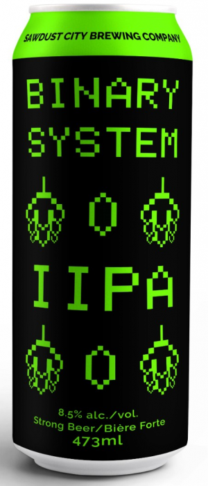 Binary System by Sawdust City Brewing Company in Ontario, Canada