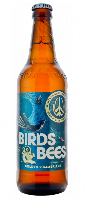 Birds & Bees Golden Summer Ale by Williams Bros. Brewing Co. in Clackmannanshire - Scotland, United Kingdom