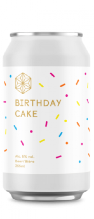 Birthday Cake by Spectrum Beer Company in British Columbia, Canada
