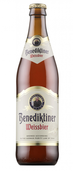 Benediktiner Weissbier by Bitburger in Hesse, Germany