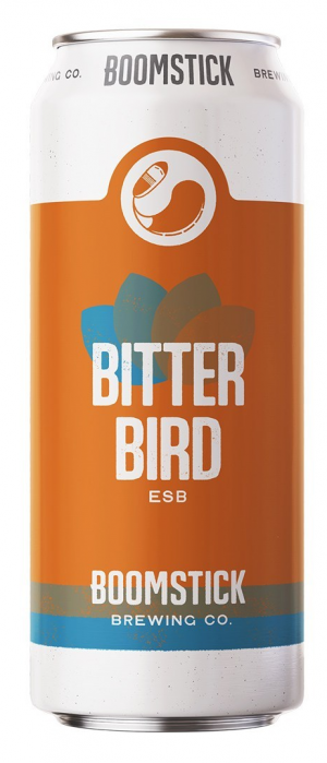 Bitter Bird by Boomstick Brewing Co. in Newfoundland and Labrador, Canada