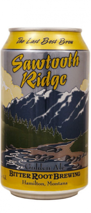 Sawtooth Ridge by Bitter Root Brewing in Montana, United States