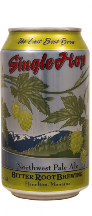 Single Hop by Bitter Root Brewing in Montana, United States