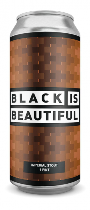 Black is Beautiful by Outcast Brewing in Alberta, Canada