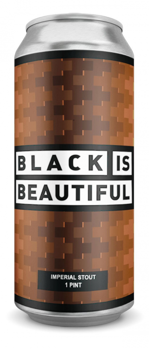 Black is Beautiful Black Forest Coffee Stout by Cabin Brewing Company in Alberta, Canada