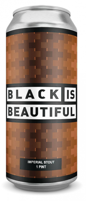 Black is Beautiful Imperial Stout with Krispy Kviek by Folly Brewpub in Ontario, Canada