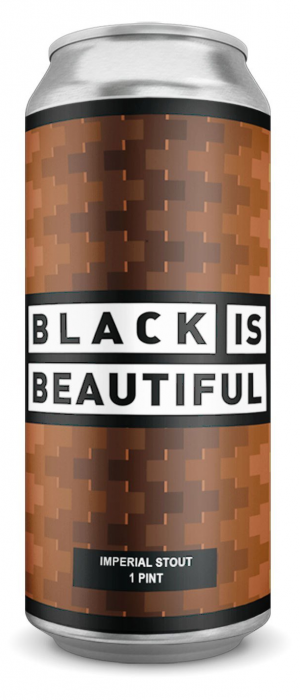 Black is Beautiful Oatmeal Stout by Four Fathers Brewing Co.  in Ontario, Canada