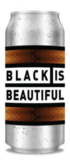 Black is Beautiful Summer Stout by Black Lab Brewing in Ontario, Canada