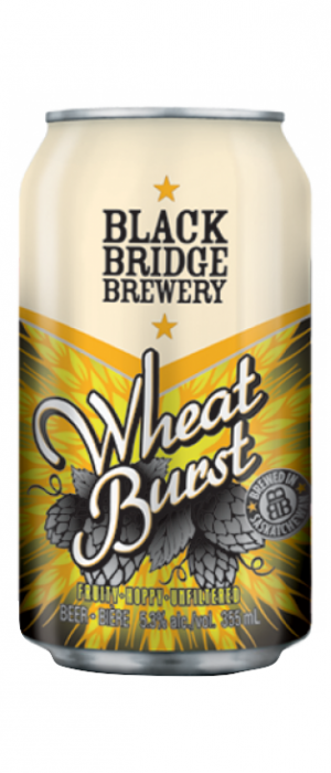 Wheatburst by Black Bridge Brewery in Saskatchewan, Canada