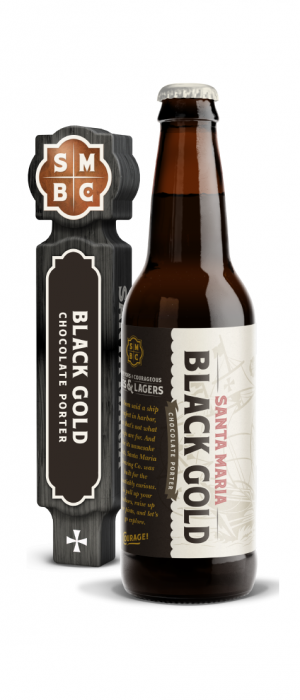 Black Gold by Santa Maria Brewing Co. in California, United States